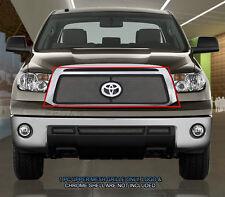 Fedar Fits 2010-2013 Toyota Tundra Chrome/Black Overlay Wire Mesh Grille Insert