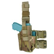 Condor Outdoor Tactical Military Hunting Leg Holster w/ Magazine Pouch Multicam