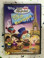 Little Einsteins - Dvdde Viaggio Europa Spagnolo Inglese Francese Portuguese Am