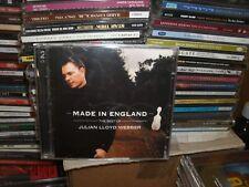 JULIAN LLOYD WEBBER,THE BEST OF,MADE IN ENGLAND,2 CDS