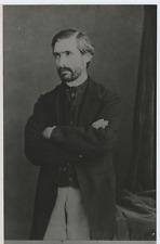 Carlo Tenca  Vintage silver print, tirage postérieurCarlo Tenca est un écrivai