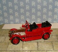 LLEDO - DAYS GONE - 1907 ROLLS-ROYCE SILVER GHOST CAR - RED/SILVER - BOXED