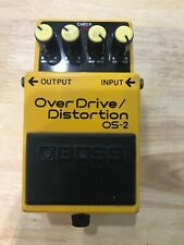 Boss OS-2 Overdrive/Distortion - (MINT CONDITION) *FAST SHIPPING*