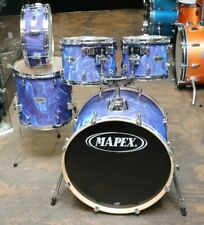 Mapex 4pc Drum Set Purple Satin Flame