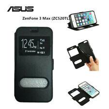 """CUSTODIA COVER  LIBRO per ASUS ZenFone 3 Max (ZC520TL) 5.2"""" ECO PELLE"""