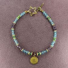 PISCES ZODIAC CHARM BRACELET Amulet Astrology Sun Sign Star Symbol Horoscope