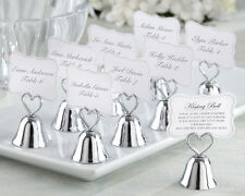 """20 Creative Table Decoration """"Kissing Bell"""" Place Card Holder Wedding Favors"""