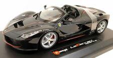 Ferrari LaFerrari APERTA 2016 Black Metallic 1 24 Bburago