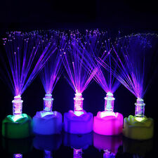 Fibre Optic LED Night Light Lamp Party Home Room Wedding Christmas Decorations C