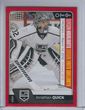 16/17 OPC Los Angeles Kings Jonathan Quick SH Red Redemption card #611