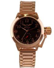 Minoir Uhren - Modell Vertus - rotgold / braun Automatikuhr, Herrenuhr