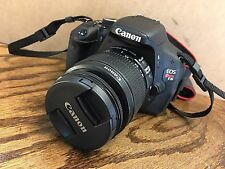 PRISTINE Canon Rebel T3i 18.0 MP DSLR With EF IS II 18-55mm + 55-250mm Lens!