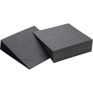 OPTP Slant Foam Lower Leg and Foot Stretching Aid Incline Foam Boards - Black