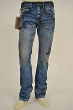 PRPS Japan Men Jeans P71P54P Demon Mosaic Blue BLU size 29 x 34