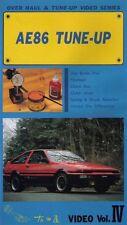 [VHS] Toyota AE86 overhaul & tune up video series vol.4 LEVIN TRUENO Japan