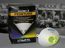 Peinture Auto/Moto: 10 Filtres cônes 190 microns pour peinture solvant/aqueuse