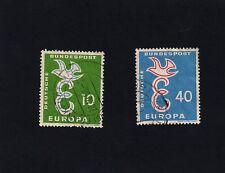 GERMANY 1958 Eurostamps  (A)