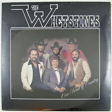 WHETSTINES Our Kind Of Country LP (STILL SEALED)