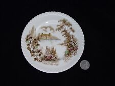 "MULTICOLOR  CASTLE ON THE LAKE JOHNSONS BROTHERS 6"" BREAD  AND BUTTER PLATE (S)"
