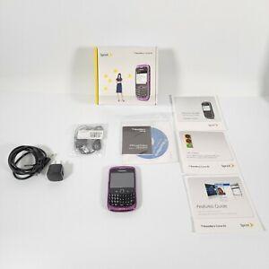 BlackBerry Curve 9330 - Purple (Sprint) Smartphone W/ Original Box