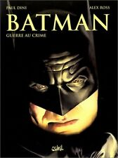 RARE EO ÉPUISÉE SOLEIL 2000 + ALEX ROSS + PAUL DINI : BATMAN. GUERRE AU CRIME