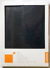 Lenovo Joga Tab3 10 inch Folio Sleeve Case Cover ZG38C00542 Black *GENUINE