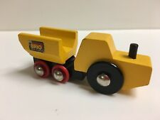 Rare Sweden 1983 Brio 33382 Tractor Dump Truck Wooden Train Thomas