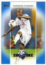 2017 Topps MLS Soccer Blue Parallel /99 #9 Hassoun Camara Montreal Impact