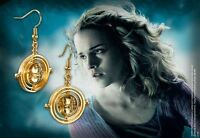 Noble Collection Harry Potter Hermione's Time Turner Earrings Jewelry