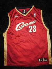 LeBron James #23 Cleveland Cavaliers Adidas NBA Jersey Youth XL 18-20