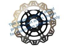 adatta Kawasaki ZX 10 R (ZX 1000 E8F / 08>10 EBC VR DISCO NERO CENTRALE mozzo