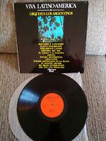 "Orquesta los Argentinische viva Lateinamerika LP 12 "" Vinyl 1972 VG/VG Spain"