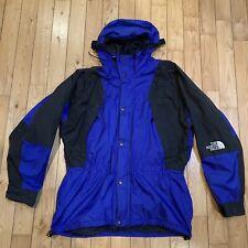 Vtg North Face Gore Tex Jacket Windbreaker Blue Shell Lightweight Large XL