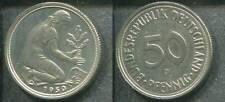 BRD DEUTSCHLAND 1950 G - 50 Pfennig in stgl. -Erhaltung!