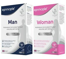 Principle Multi Vitamins and Minerals 30 Tablets | Men or Women Multivitamins