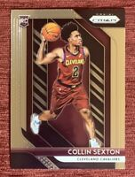 2018-19 Prizm COLLIN SEXTON Rookie Card #170 Base RC Cleveland Cavaliers Cavs🔥