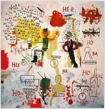 Jean Michel Basquiat Riddle Me This Batman printed on Canvas NO Frame 20 L135