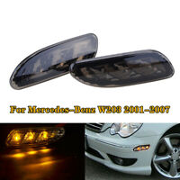 Side Marker Light Bumper Turn Signal Lamp For Mercedes-Benz W203 C200 C230 01-07