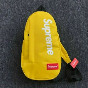 YELLOW SUPREME CROSSBODY BACKPACK SINGLE STRAP SLING BAG - BRAND NEW!