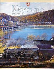 Keystone PRR V35 N3 2002 Pocomoke City Stations Pennsy H6 LIRR Pullman Standard