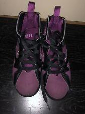 "Jordan 7 Retro GP 2Y Shoes Black / Fuschia Glow, ""Mulberry"" 510816 109"