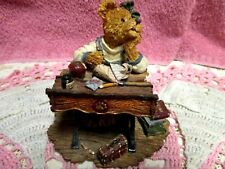 Boyds Bears Is it Lunchtime Yet Desk Amy B. Bearsdale Excellent Bearstones