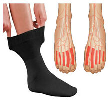 Anti Fatigue Miracle Socks Deluxe Ribbed Cotton Comfort Compression Energy Sox