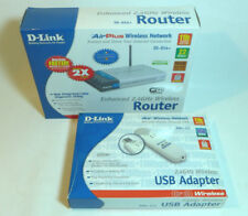 D-link di -614+ Router + D-LINK dwl-122 USB Adattatore 335