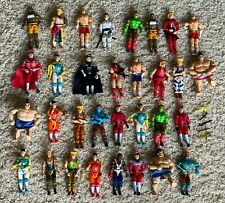 Gi Joe Street Fighter Action Figures & Weapons Lot 37 Pieces $.01 Nr!