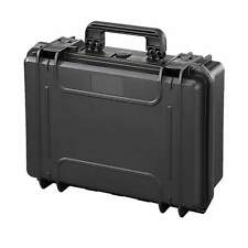 MAX300 w/ Foam Waterproof Protective Laptop Travel Briefcase Hard Case Box Black