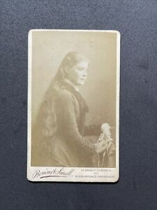 Victorian CDV: Pretty Young Lady Long Hair To Waist: Bonding Small St Leonaards