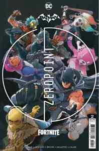 DC Comics Batman Fortnite Zero Point 2 - 2nd Print (2021) New