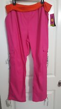 Zumba Cargo Pants Athletic Pink Size XL Extra Large NEW NWT Retails $65