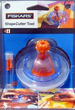 Fiskars Original Shape Cutter Tool w/ 2 BLADES  Scrapbooking NIP